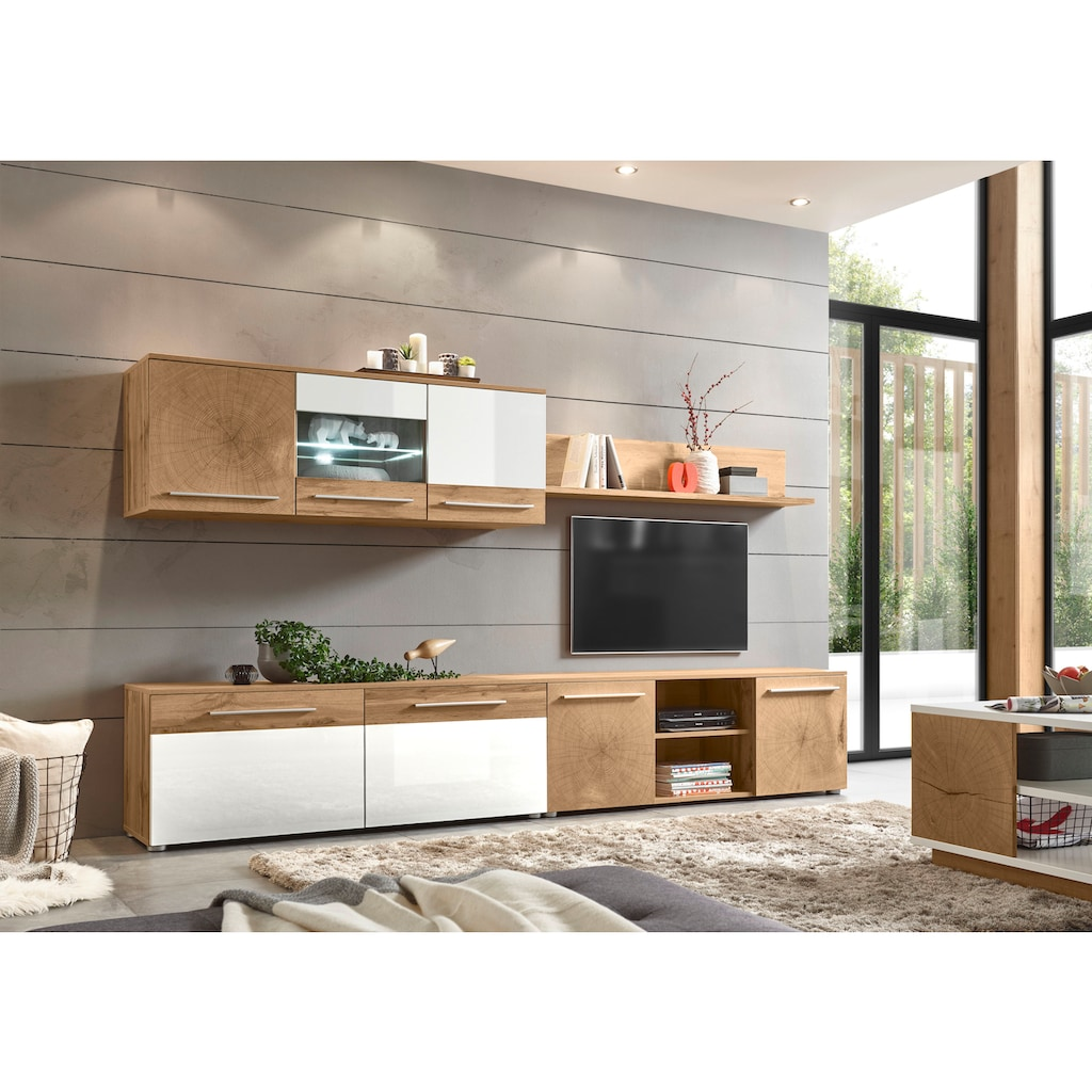Places of Style Wohnwand »Locarno« (Set, 4-tlg)