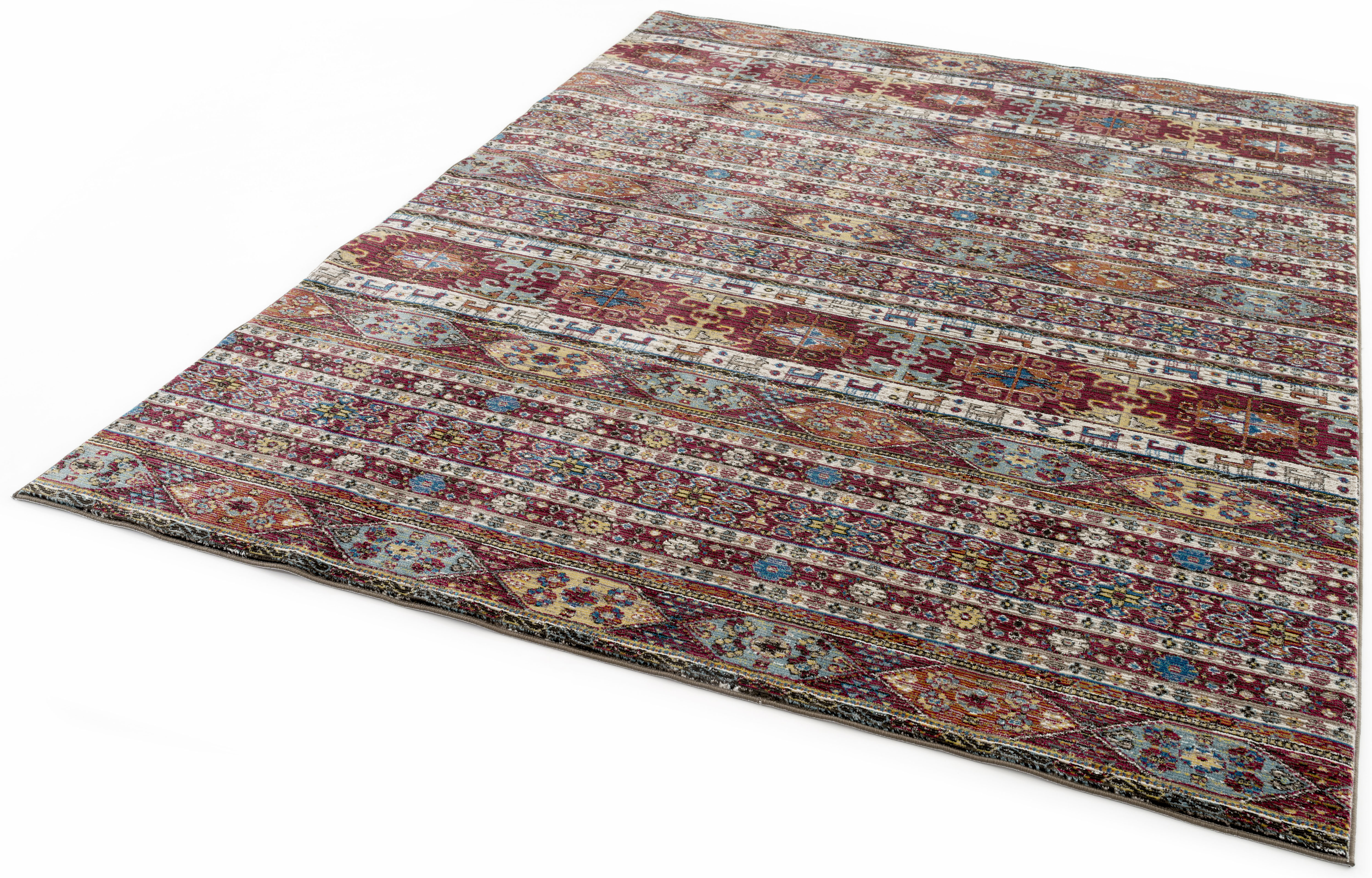 Teppich, »Picasso 11601«, Festival, rechteckig, Höhe 6 mm, maschinell gewebt | Heimtextilien > Teppiche > Sonstige-Teppiche | Rot | FESTIVAL