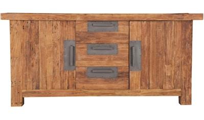 SIT Sideboard »Coral«, aus recyceltem Altholz Teak kaufen
