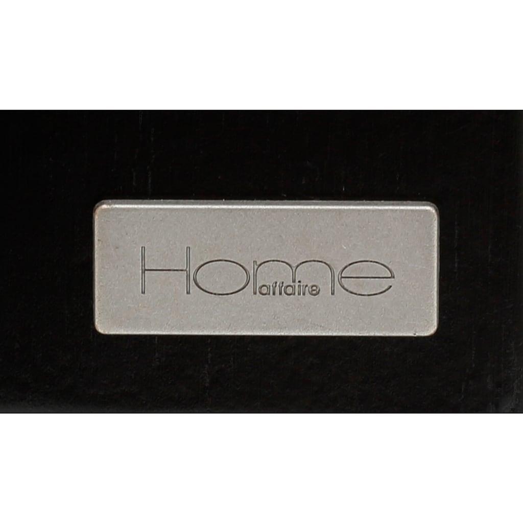 Home affaire Highboard »Jolene«, mit Rattangeflecht auf den Türfronten, aus Massivholz, in zwei unterschiedlichen Farbvarianten