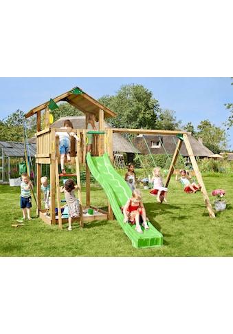 JUNGLE GYM Spielturm »Jungle Chalet«, BxTxH: 200x390x310 cm kaufen