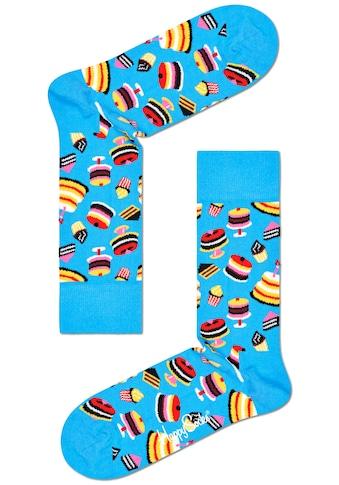 Happy Socks Socken, mit knalligen Kuchen Motiven kaufen