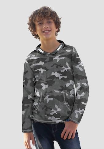 KIDSWORLD Langarmshirt, tarnfarben kaufen