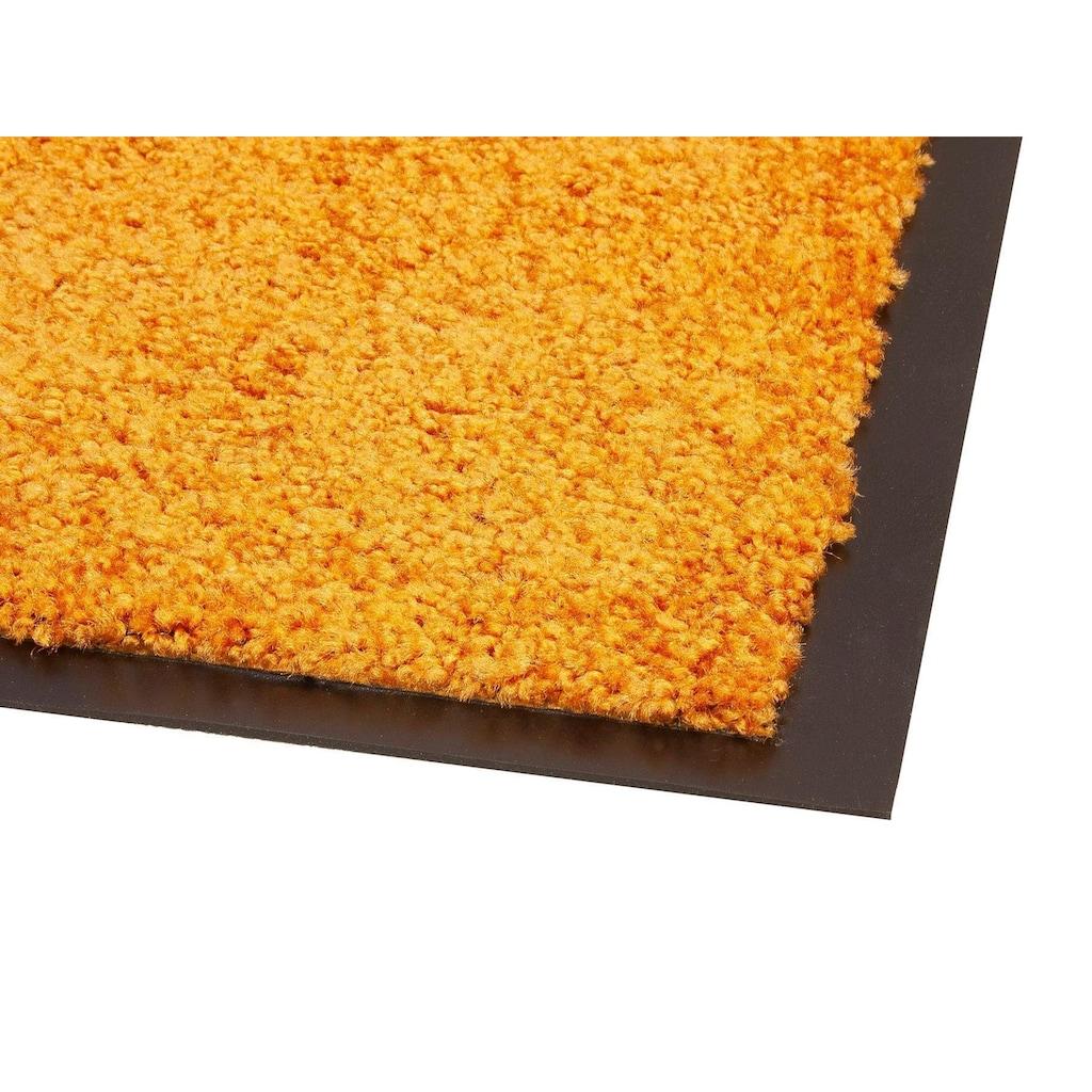 Primaflor-Ideen in Textil Fußmatte »CLEAN«, rechteckig, 9 mm Höhe, Schmutzfangmatte, In- und Outdoor geeignet, waschbar