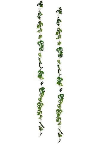 Creativ green Kunstranke »Splitphiloblattgirlande« (2 Stück) kaufen
