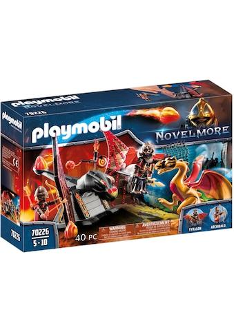 "Playmobil® Konstruktions - Spielset ""Burnham Raiders Kampftraining des Drachen (70226), Novelmore"", Kunststoff, (40 - tlg.) kaufen"