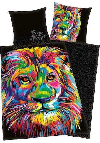 Wendebettwäsche »Löwe«, kaufen