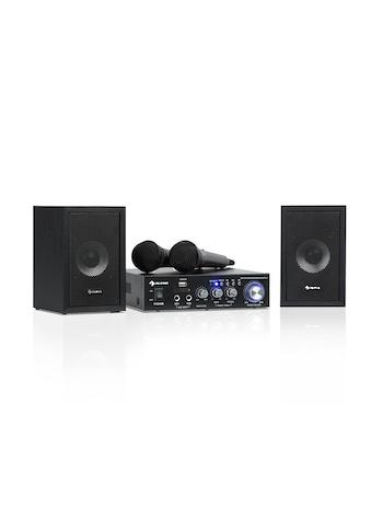 Auna Karaoke - Set, 2 x 50 W max., BT, USB/SD, Line - In, 2 x Mikro »Karaoke Star 2« kaufen