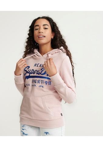 Superdry Kapuzensweatshirt »VL GLITTER EMBOSS ENTRY HOOD« kaufen