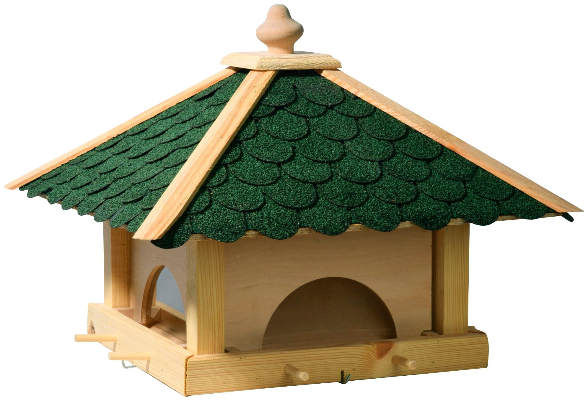 DOBAR Vogelhaus, BxTxH: 49x49x36 cm | Garten > Tiermöbel > Vogelhäuser-Vogelbäder | DOBAR