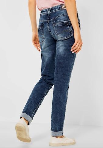 Cecil Boyfriend-Jeans »Scarlett«, in Used-Waschung kaufen