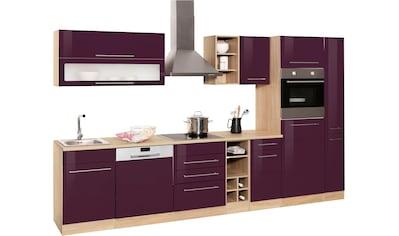 HELD MÖBEL Küchenzeile »Eton«, ohne E-Geräte, Breite 330 cm kaufen
