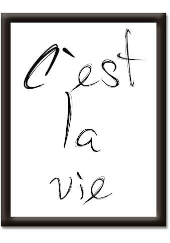 Artland Wandbild »So ist das Leben« kaufen