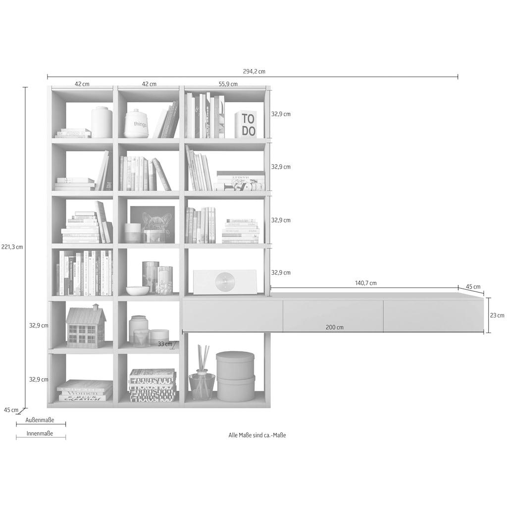 fif möbel Wohnwand »TORO 660«