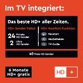 Telefunken D40U553M1CW LED-Fernseher (102 cm / (40 Zoll), 4K Ultra HD, Smart-TV
