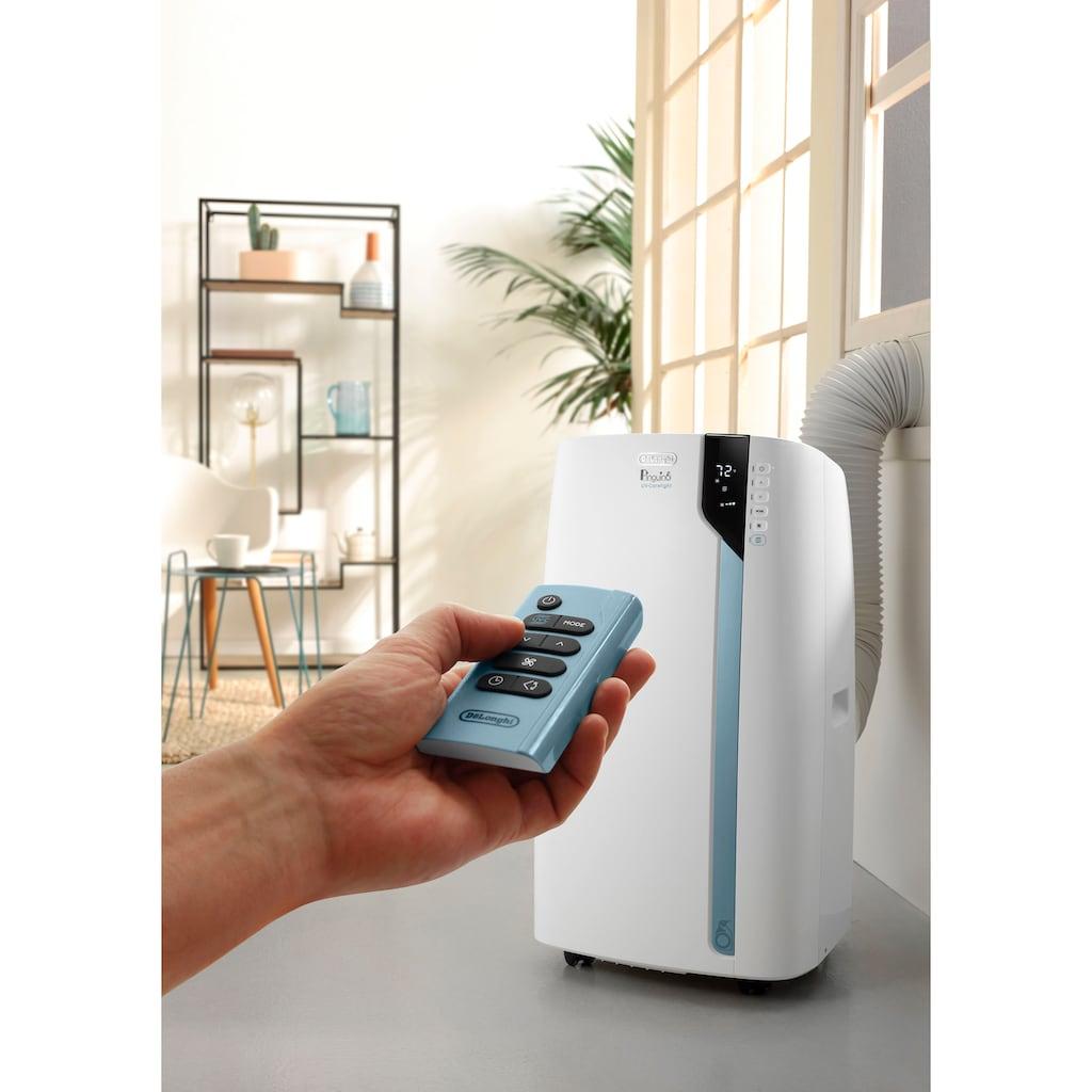 De'Longhi 4-in-1-Klimagerät »PAC EX130 ECO RealFeel«, mobiles Klimagerät mit UV-C Filter zur Luftreinigung