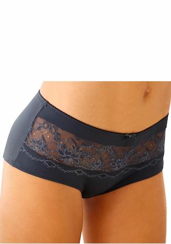 LASCANA Panty »Nina«, mit transparenter Spitze vorne kaufen