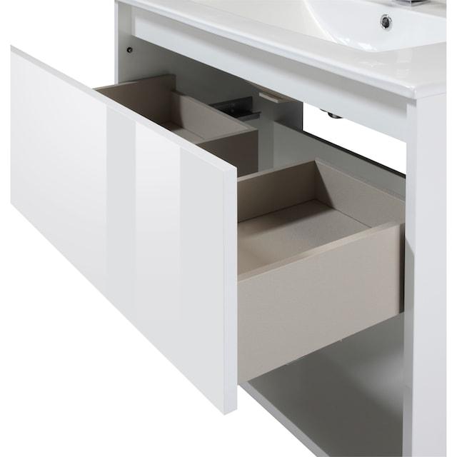 CYGNUS BATH Waschtisch »Noja«, Breite 80 cm, 2 tlg. Waschplatz-Set