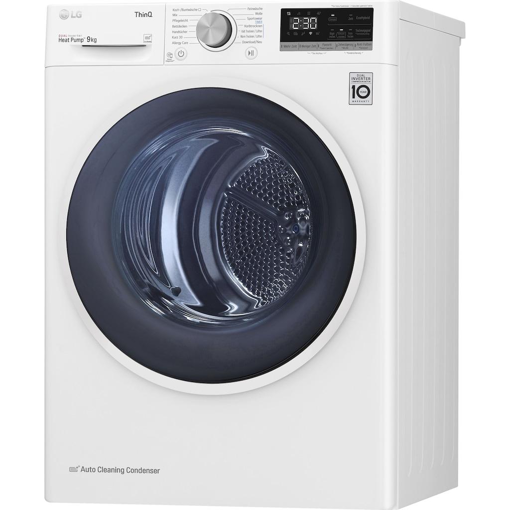 LG Wärmepumpentrockner »V5RT9«
