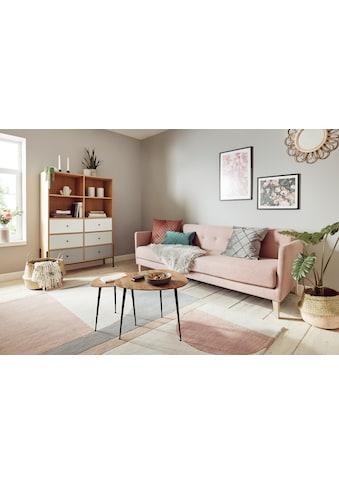 Hochflor - Teppich, »Sammo«, my home, fellförmig, Höhe 60 mm, gedruckt kaufen