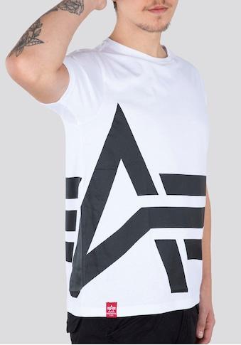 Alpha Industries Rundhalsshirt »Side Logo Tee« kaufen