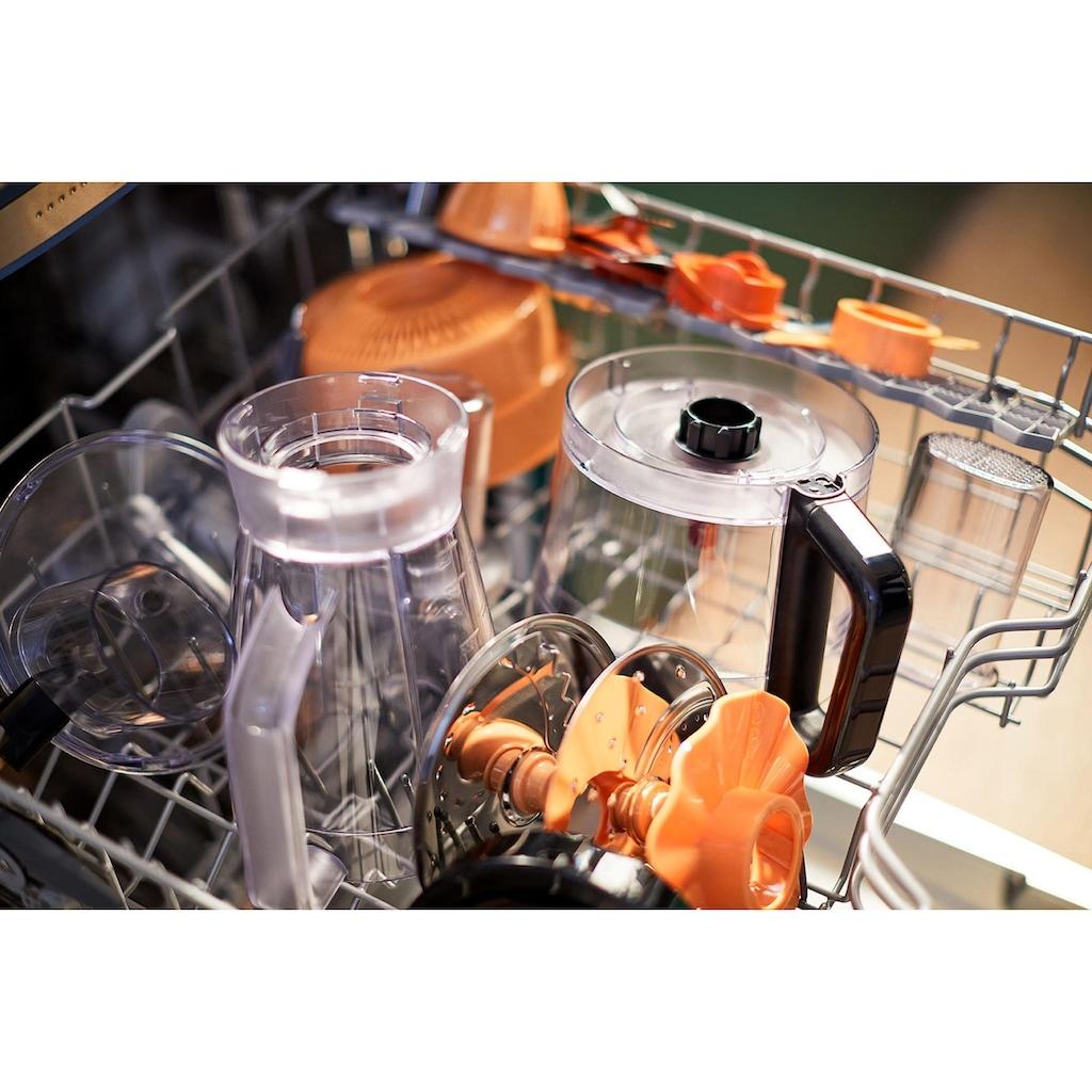 Philips Küchenmaschine »HR7530/10«, 850 W, 2,1 l Schüssel, 31 Funktionen, 2-in-1 Schneidescheibe, Zitruspressenaufsatz