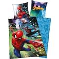 MARVEL Kinderbettwäsche »Spiderman«, mit Spiderman Motiv