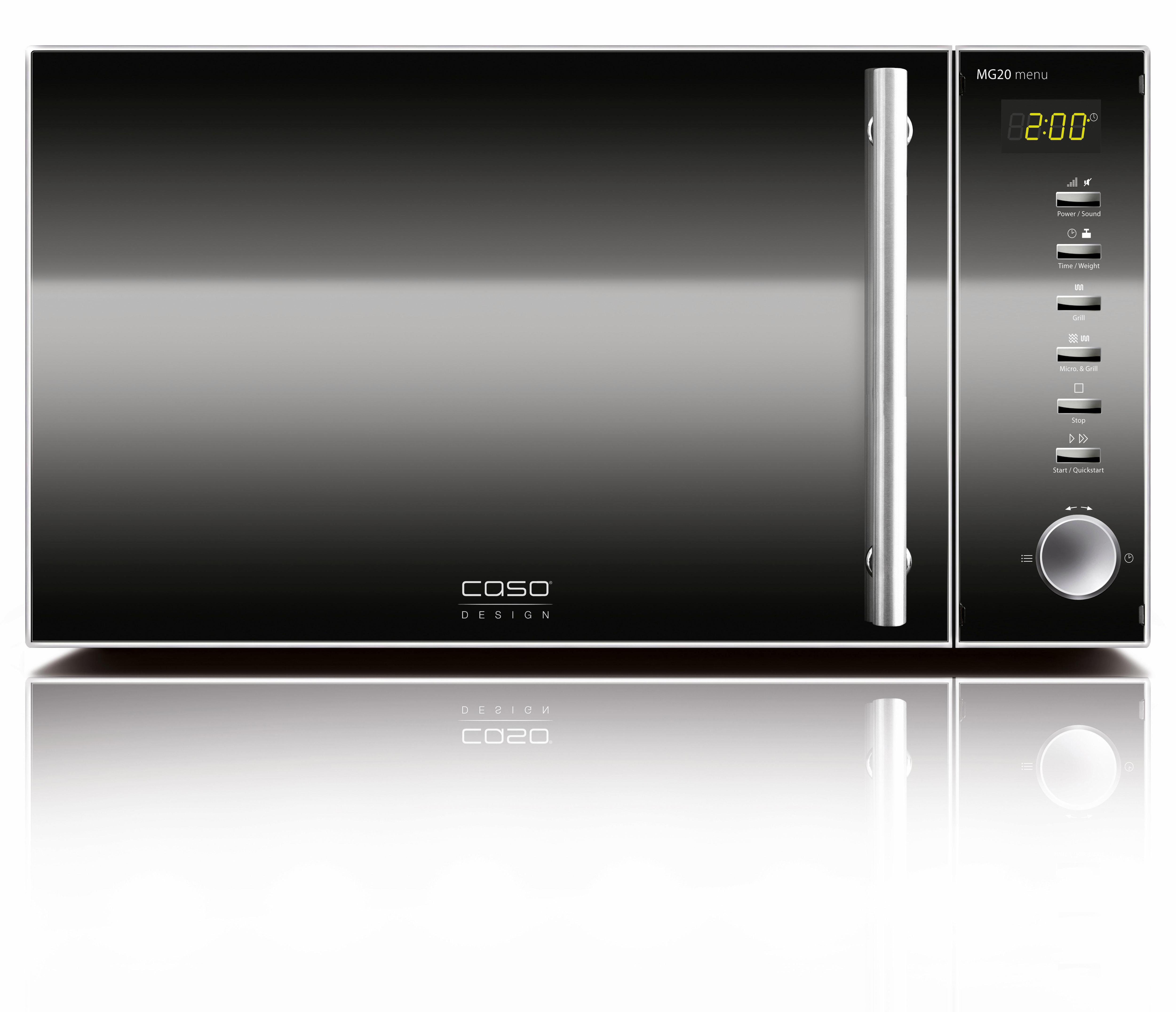 Caso Mikrowelle MG 20, 800 W | Küche und Esszimmer > Küchenelektrogeräte > Mikrowellen | CASO DESIGN