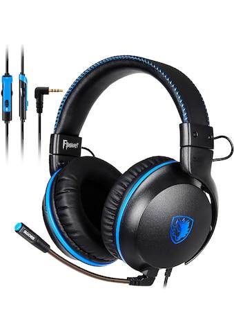 Sades Gaming-Headset »Fpower SA-717«, Mikrofon abnehmbar, Kompatibel mit PS4, PS5, Xbox One, Xbox Series X/S und Nintendo Switch kaufen