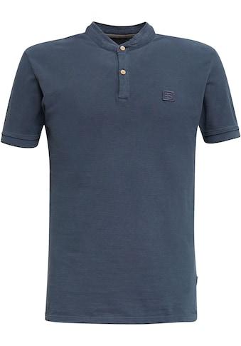 Esprit T-Shirt, mit kleinem Stehkragen kaufen