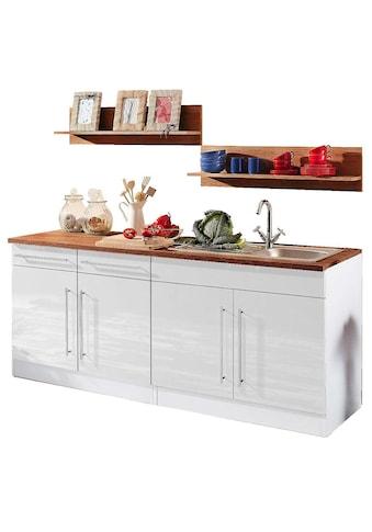 HELD MÖBEL Küchenzeile »Keitum«, ohne E - Geräte, Breite 200 cm kaufen