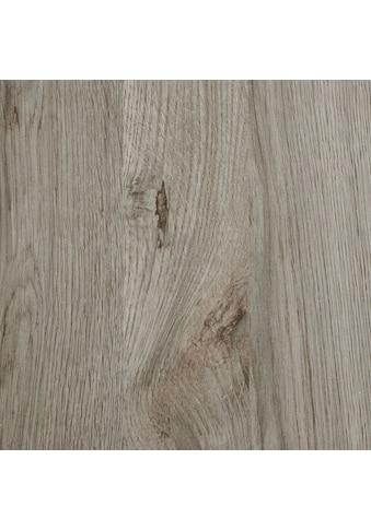 BODENMEISTER Spar - Set: Laminat »Schiffsboden Eiche hell - grau«, 1376 x 193 mm, Stärke: 7mm kaufen