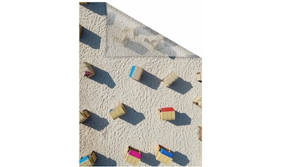 Fensterfolie, »Strandkörbe«, LICHTBLICK, blickdicht, strukturiert kaufen
