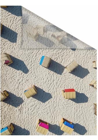 LICHTBLICK ORIGINAL Fensterfolie »Strandkörbe«, 1 St., blickdicht,... kaufen