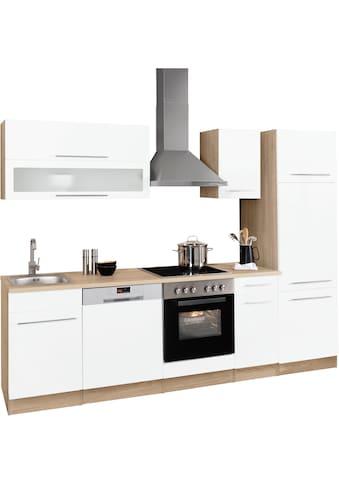 HELD MÖBEL Küchenzeile »Eton«, ohne E-Geräte, Breite 270 cm kaufen