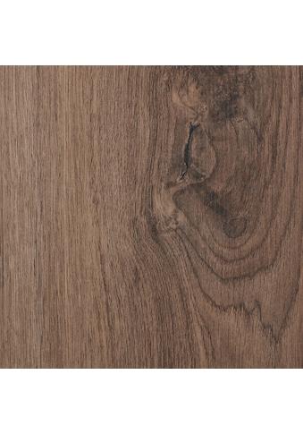 BODENMEISTER Laminat »Dielenoptik Eiche dunkel - braun«, 1376 x 193 mm, Stärke: 7mm kaufen