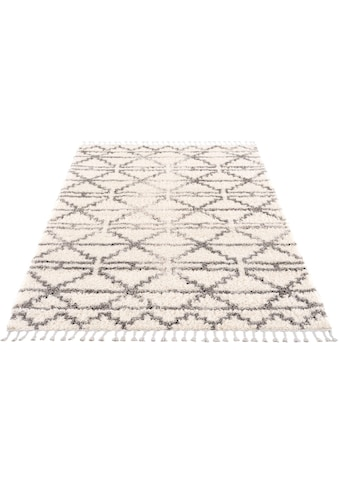 Hochflor - Teppich, »Pulpy 530«, Carpet City, rechteckig, Höhe 30 mm, maschinell gewebt kaufen