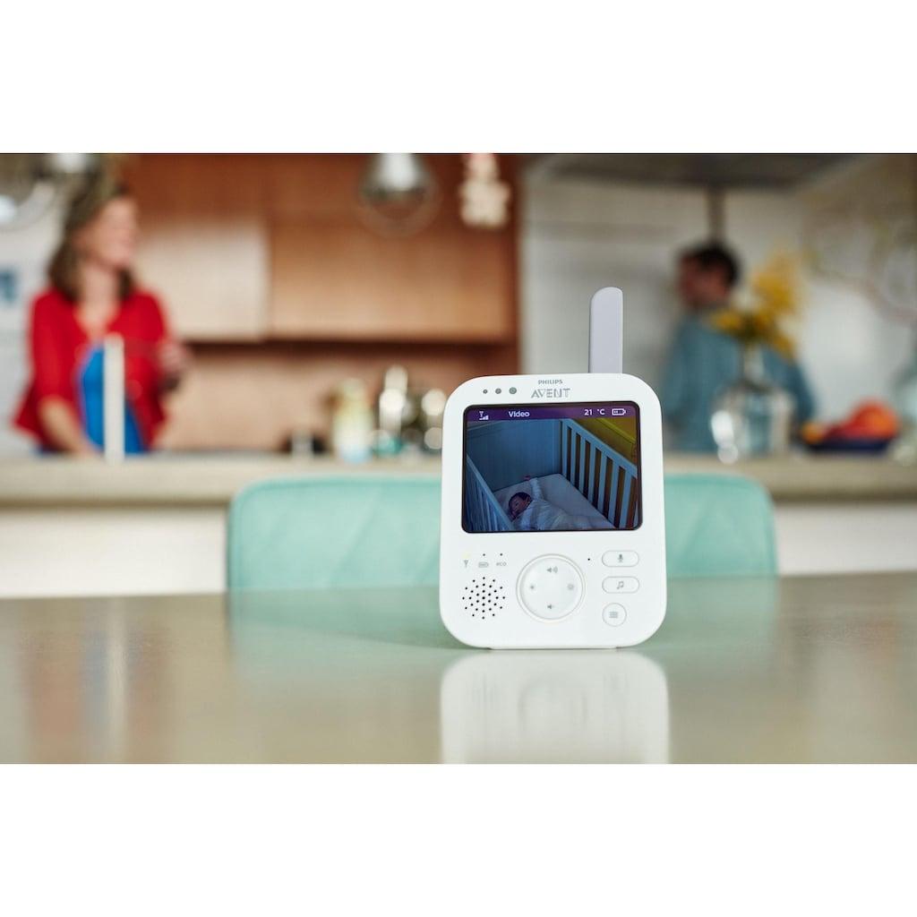 Philips AVENT Video-Babyphone »SCD843/26«, 3,5 Zoll Farbdisplay