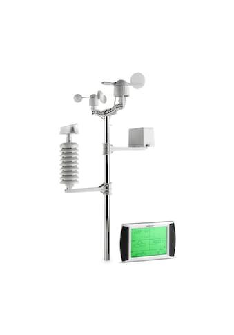 ONECONCEPT Funk Wetterstation Funkthermometer Barometer 100m LCD Display »Beaufort« kaufen