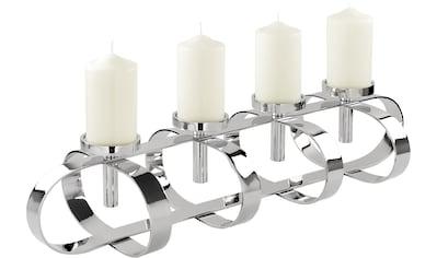 Fink Kerzenleuchter »GORDEN«, 4-flammig, Breite ca. 85 cm, Adventsleuchter kaufen