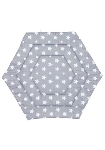 Fillikid Laufgittereinlage »Sterne 6-eckig, grau« kaufen