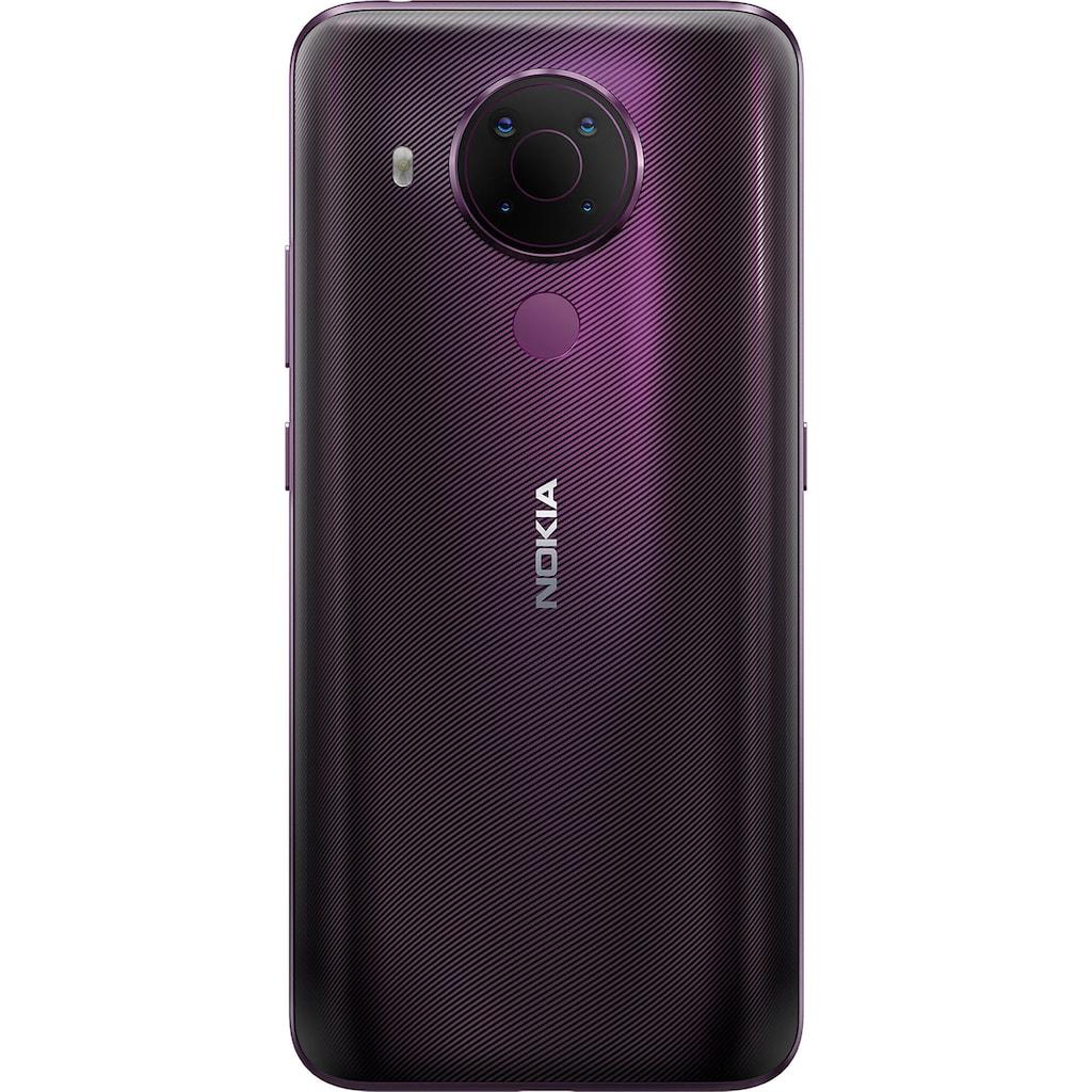 "Nokia Smartphone »5.4«, (16,23 cm/6,39 "" 128 GB Speicherplatz, 48 MP Kamera)"