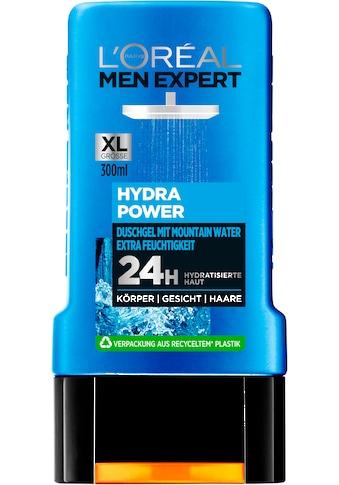 L'ORÉAL PARIS MEN EXPERT Duschgel »Hydra Power Mountain Water«, Gesicht, Körper & Haare kaufen