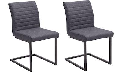 MCA furniture Freischwinger »Kian«, Vintage Kunstleder mit oder ohne Armlehne, Stuhl... kaufen