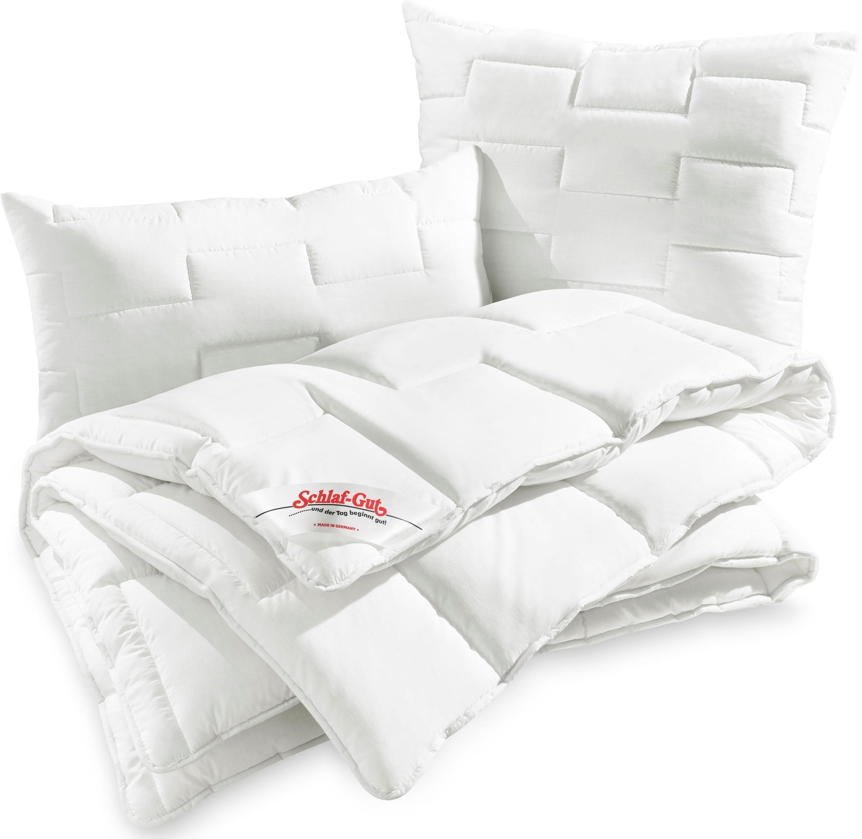 Baumwollbettdecke, »Utah«, Schlaf-Gut, Bezug: 50% Baumwolle günstig online kaufen