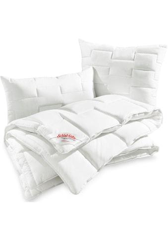 Schlaf-Gut Kunstfaserbettdecke »Utah«, normal, Bezug 50% Baumwolle, (1 St.) kaufen