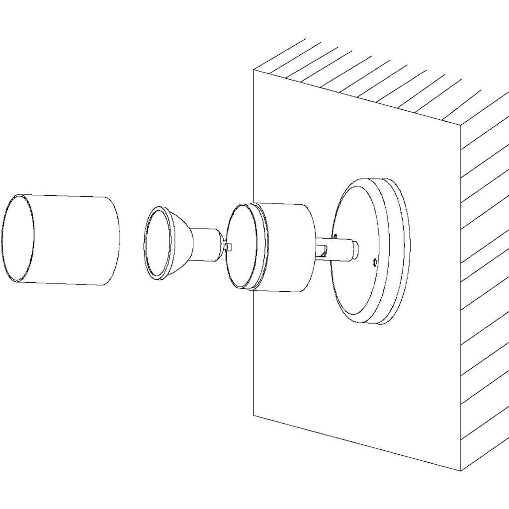 EGLO LED Außen-Wandleuchte »STOCKHOLM1«, GU10, Warmweiß, Eckmontage möglich