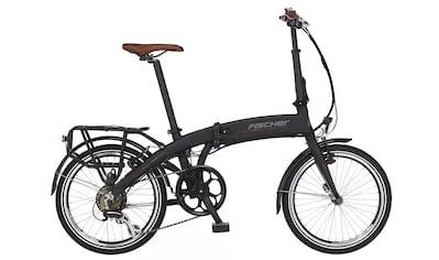 FISCHER Fahrräder E - Bike »FISCHER e - Faltrad FR18«, 7 Gang Shimano ACERA SGS Schaltwerk, Kettenschaltung, Heckmotor kaufen