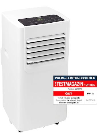 bestron Klimagerät »AAC7000«, für Räume bis 28m², Kühlleistung 2,1 kW mit... kaufen