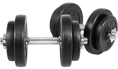 GORILLA SPORTS Kurzhantel »Kurzhantelset Kunststoff 20 kg«, 20 kg, (Spar-Set, 14 tlg.,... kaufen